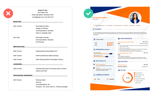 Word Resume Templates
