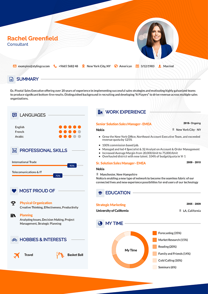 Interesting Resume Template
